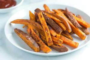 Zoete aardappel airfryer