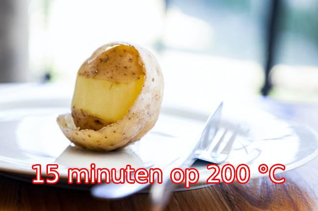 aardappelen in de airfryer