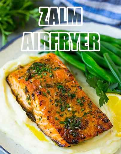 Zalm airfryer