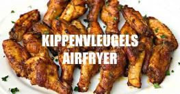 Kippenvleugels airfryer
