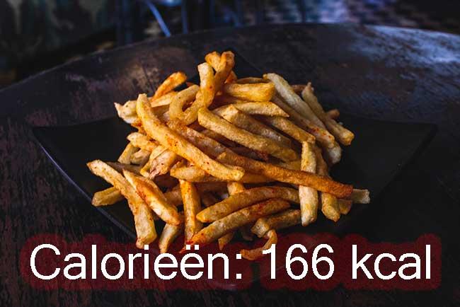 Calorieën-patat-airfryer