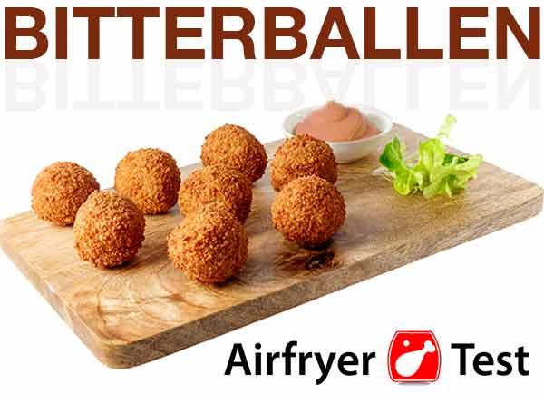 Airfryer bitterballen